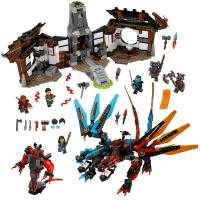 LEGO Ninjago Кузница Дракона Dragon's Forge 70627 Fun Toy